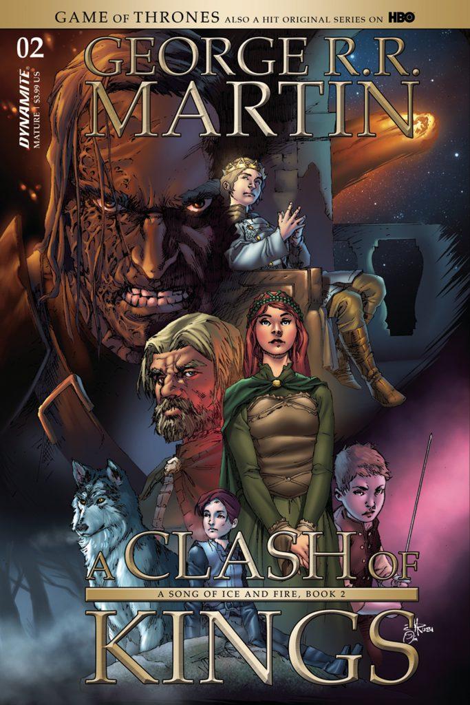Game Of Thrones Clash Of Kings 2 Mel Rubi Variant Cover