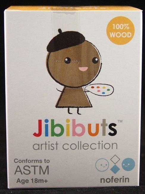 JIBIBUTS ARTIST SERIES - WOODEN BLIND BOX BY NOFERIN