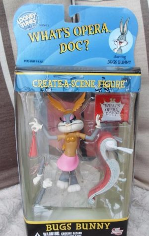 LOONEY TUNES GOLDEN COLLECTOR SERIES 1 – BUGS BUNNY - ACTION FIGURE