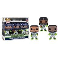 NFL - LEGION OF BOOM SEATTLE SEAHAWKS 3 PACK - FUNKO POP! VINYL FIGURES