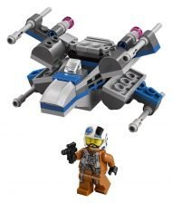 LEGO - STAR WARS - MICROFIGHTERS EPISODE VII RESISTANCE X-WING FIGHTER