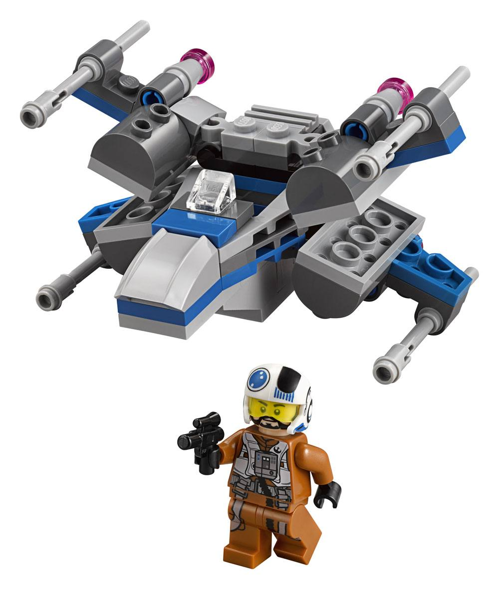 LEGO - STAR WARS - MICROFIGHTERS EPISODE VII RESISTANCE X ...