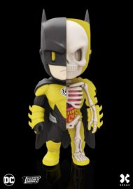 DC COMICS XXRAY FIGURE - BATMAN YELLOW LANTERN 10 CM