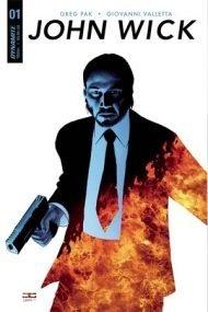 John Wick #1 John Cassaday Variant Cover