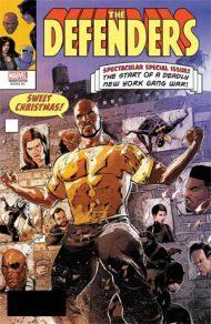 Defenders Vol 5 #6 Szymon Kudranski Lenticular Homage Cover Marvel Legacy Tie-In