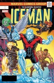 Iceman Vol 3 #6 Variant Michael Ryan Lenticular Homage Cover