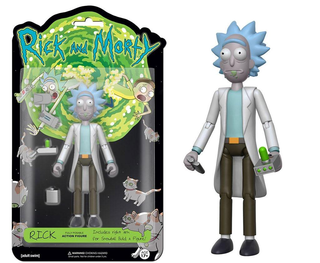 Rick And Morty Rick Funko Action Figure Pop