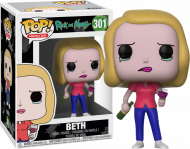 RICK AND MORTY - BETH WITH WINE GLASS - FUNKO POP! VINYL FIGURE