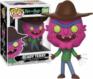 RICK AND MORTY - SCARY TERRY - FUNKO POP! VINYL FIGURE