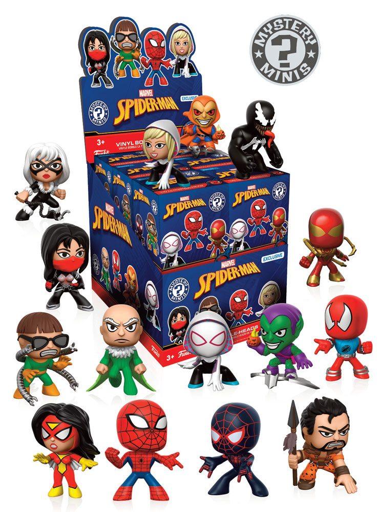 Spider Man Exclusive Funko Mystery Mini Blind Box Pop
