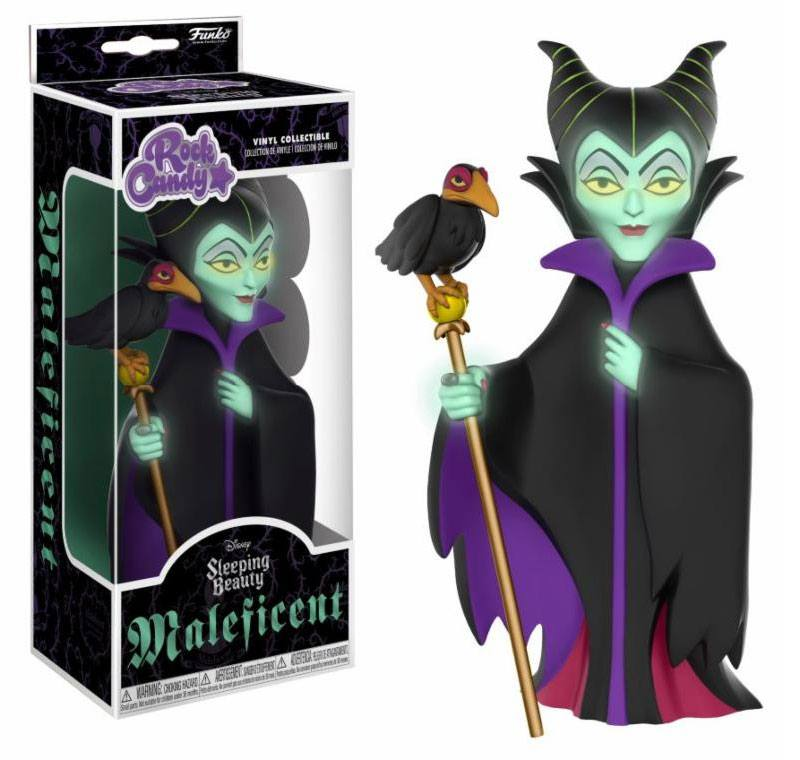 Rock Candy Disney Maleficent Glow In The Dark Funko Vinyl Figure Pop Addiction Funko Pop Collectables Merchandise Comics And Much More