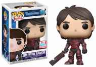 NYCC 2017 - TROLLHUNTERS - JIM WITH RED ARMOR - FUNKO POP! VINYL FIGURE