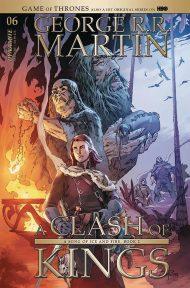 Game of Thrones: Clash of Kings #6 Mel Rubi Variant Cover