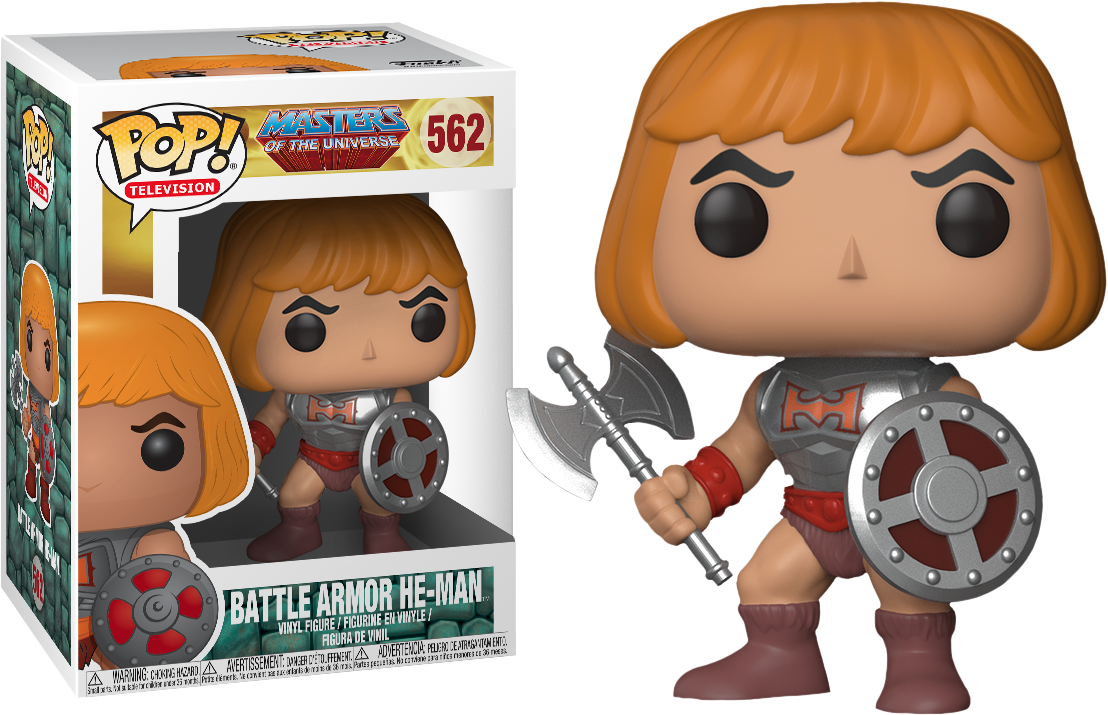 Battle Armor He-Man Pop Vinyl Figure Masters of the Universe FUNKO BRAND NEW