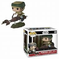 STAR WARS - LEIA WITH SPEEDER BIKE - FUNKO POP RIDE! VINYL FIGURE