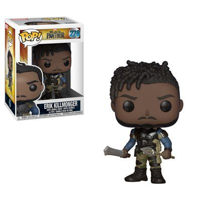 BLACK PANTHER - BLACK PANTHER - FUNKO POP! VINYL FIGURE