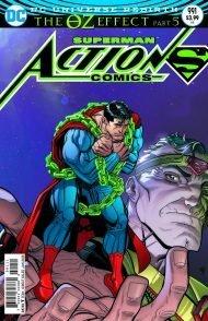 Action Comics Vol 2 #991 Nick Bradshaw Lenticular Cover (The Oz Effect)