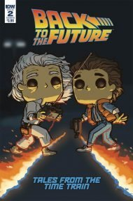 Back to the Future: Time Train #2 Funko Wolfe Cover Variant