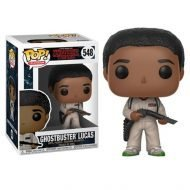 STRANGER THINGS - GHOSTBUSTER LUCAS - FUNKO POP! VINYL FIGURE