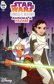 Star Wars Adventures - Forces Of Destiny: Ahsoka and Padme #1 Valentina Pinto Regular Cover