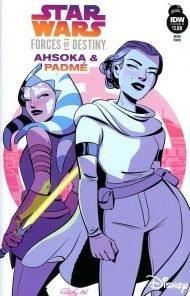 Star Wars Adventures - Forces Of Destiny: Ahsoka and Padme #1 Elsa Charretier Variant Cover