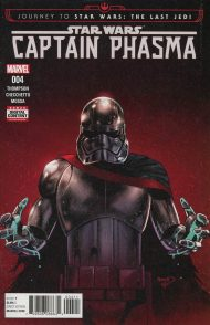 Journey To Star Wars: The Last Jedi - Captain Phasma #4 Paul Renaud Regular Cover