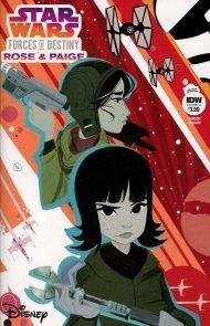 Star Wars Adventures - Forces Of Destiny: Rose & Paige Nicoletta Baldari Regular Cover