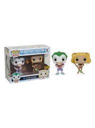 DC COMICS - BEACH JOKER & HARLEY - FUNKO POP! VINYL FIGURE