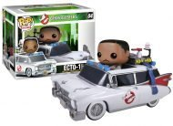 GHOSTBUSTERS - ECTO-1 WITH WINSTON ZEDDEMORE - FUNKO POP RIDE! VINYL FIGURE