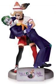 DC COMICS - BOMBSHELLS: THE JOKER & HARLEY QUINN STATUE 25 CM - 2ND EDITION