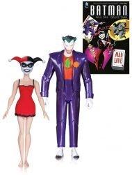 DC COMICS - BATMAN THE ANIMATED SERIES: THE JOKER & HARLEY QUINN MAD LOVE 15 CM - 2ND EDITION