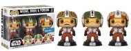 STAR WARS - WEDGE, BIGGS & PORKINS 3-PACK - FUNKO POP! VINYL FIGURE