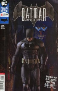 Batman Sins Of The Father #1 Video Game Variant Art Cover