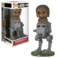 STAR WARS – CHEWBACCA WITH AT-ST  – FUNKO POP! VINYL FIGURE