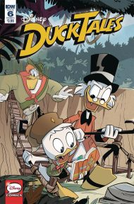 Ducktales Vol 4 #6 Marco Ghiglione Regular Cover