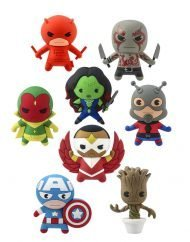 BLIND BAGS - MARVEL COMICS KEYCHAINS - SERIES 2