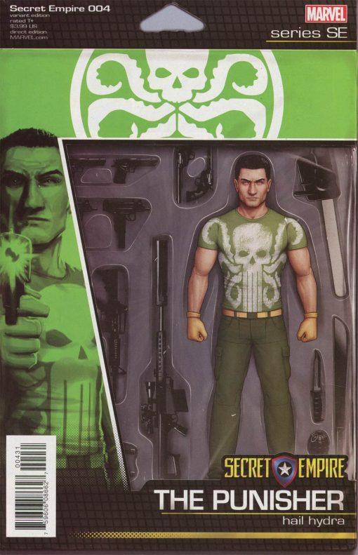 Secret Empire #4 John Tyler Christopher Action Figure Variant Cover