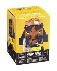 STAR TREK - MEGA CONSTRUX SET WORF - KUBROS CONSTRUCTION 14 CM