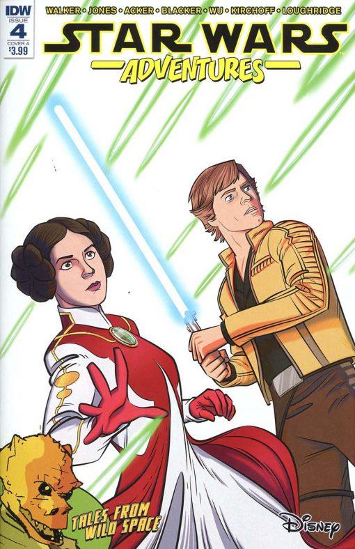 Star Wars Adventures #4 Jon Sommariva Regular Cover