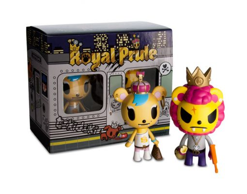 TOKIDOKI - ROYAL PRIDE - SAVANNAH & LION PAPPA
