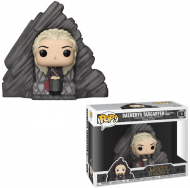 GAME OF THRONES – DAENERYS TARGARYEN ON DRAGONSTONE THRONE – FUNKO POP! VINYL FIGURE