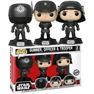 STAR WARS - DEATH STAR GUNNER, OFFICER & TROOPER 3-PACK - FUNKO POP! VINYL FIGURE