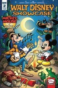 Walt Disney Showcase Vol 2 #2 Mickey Mouse Andrea Freccero Regular Cover