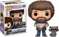 THE JOY OF PAINTING - BOB ROSS WITH RACOON - FUNKO POP! VINYL FIGURE