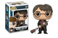 HARRY POTTER - HARRY WITH FIREBOLT & FEATHER - FUNKO POP! VINYL FIGURE