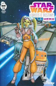Star Wars Adventures - Forces Of Destiny: Hera #1 Eva Widermann Regular Cover