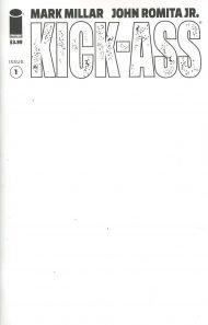 Kick-Ass Vol 4 #1 Blank Variant Cover