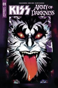 KISS/Army Of Darkness #1 Goni Montes Demon Necronomicon Variant Cover