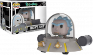RICK AND MORTY - RICK'S SHIP - FUNKO POP! VINYL FIGURE