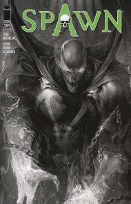 Spawn #284 Jason Shawn Alexander Sketch Variant Cover